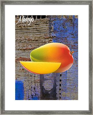 Mango Collection Framed Print by Marvin Blaine