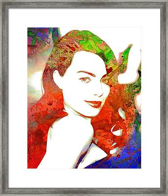Margot Robbie Print Framed Print by Best Actors