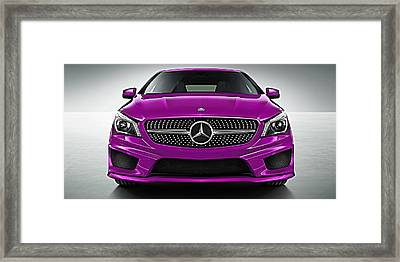 Mercedes Cla Class Coupe Collection Framed Print by Marvin Blaine