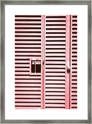 Metal Gate Framed Print