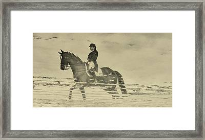 Mirror Image Reflected Framed Print by JAMART Photography
