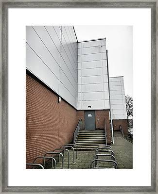 Modern Building Exterior Framed Print by Tom Gowanlock