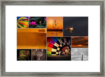 Moments In Time Framed Print by Don Spenner