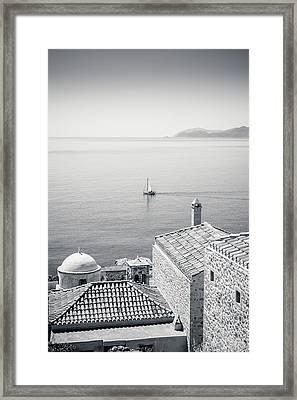 Monemvasia / Greece Framed Print