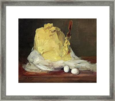 Mound Of Butter Framed Print