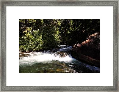 Mountain  River Framed Print by Mark Smith