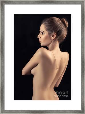 Naked Sensual Framed Print by Aleksey Tugolukov