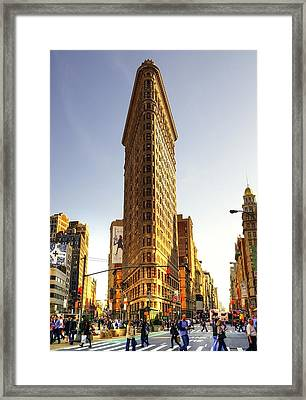 New York Framed Print by Svetlana Sewell