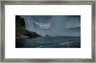Niagara Falls Framed Print by Martin Newman
