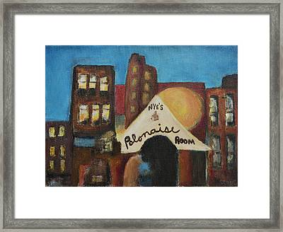 Framed Print featuring the painting Nye's Polonaise Room by Susan Stone