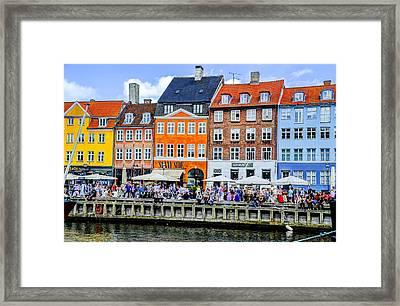 Nyhavn - Copenhagen Denmark Framed Print