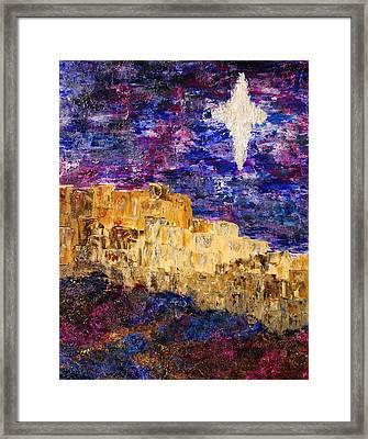 Oh Bethlehem Framed Print