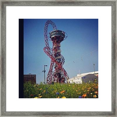 #olympics #london2012 #london Framed Print by Nerys Williams