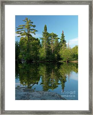 Ontario Nature Scenery Framed Print by Oleksiy Maksymenko