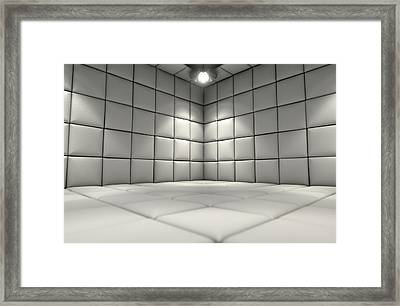 Padded Cell Framed Print by Allan Swart