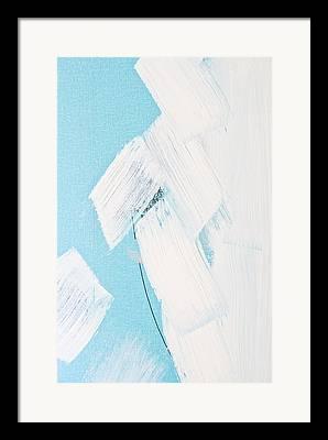 Black Painted Edges Framed Prints