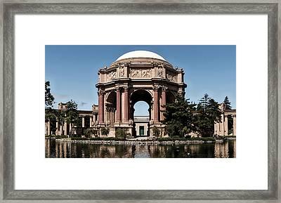 Palace Of Fine Arts Framed Print by L O C