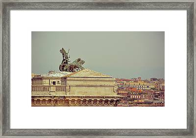 Viewing The Palace Of Justice Framed Print by JAMART Photography