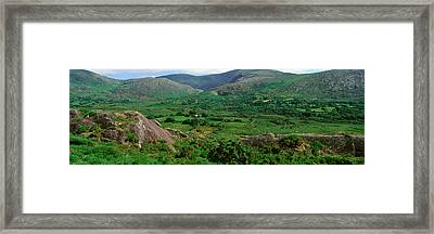Panoramic View Of Healy Pass, Cork Framed Print by Panoramic Images