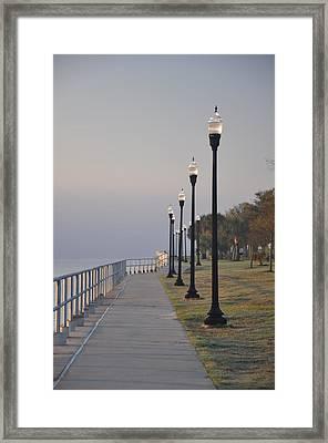 Pensacola Bay Framed Print