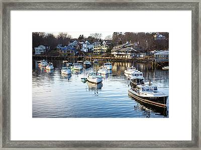 Perkins Cove Framed Print