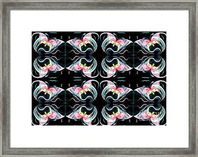 Pheromones Framed Print by Ky Wilms
