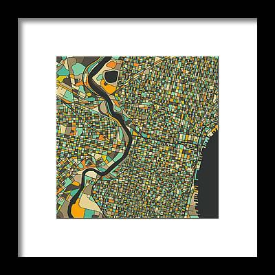 Philadelphia Framed Prints