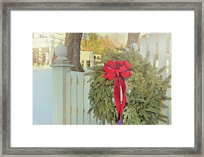 Picket Pine Framed Print by JAMART Photography