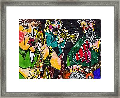 3 Piece Framed Print by Jame Hayes