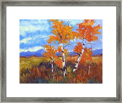 Plein Air Series Framed Print