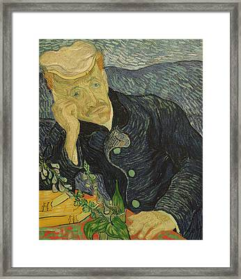 Portrait Of Dr Gachet Framed Print
