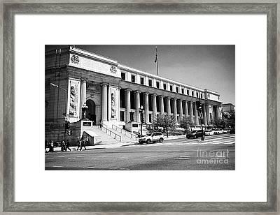 Postal Square Building Washington Dc Usa Framed Print
