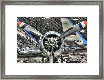 Pratt And Whitney R-2800 - Douglas, Vc-118 - The Independence  Framed Print