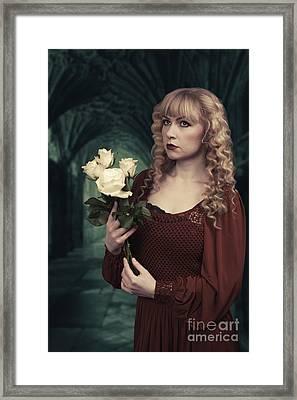 Pre-raphaelite Woman Framed Print