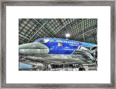 Presidential Aircraft, Douglas Vc-118, The Independence  Framed Print