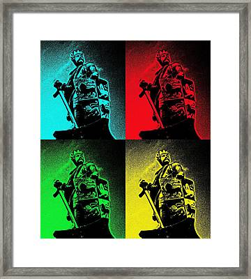 Prince Of Wales Framed Print by Christopher Rowlands