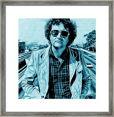 Randy Newman Collection Framed Print by Marvin Blaine
