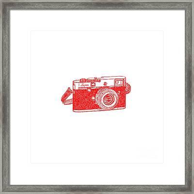 Rangefinder Camera Framed Print