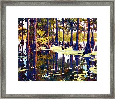 Reflections Framed Print by Kevin Lawrence Leveque