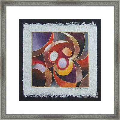 Reki II - Dance For Joy Framed Print
