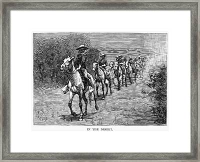 Remington: 10th Cavalry Framed Print by Granger