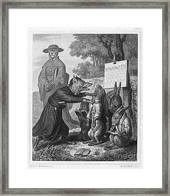 Reynard The Fox, 1846 Framed Print by Granger