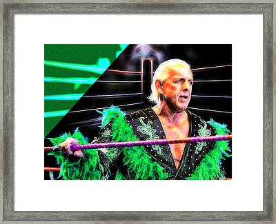 Ric Flair Wrestling Collection Framed Print