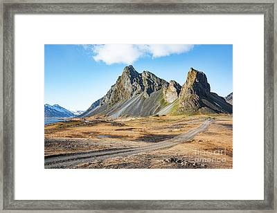 Road Framed Print by Svetlana Sewell