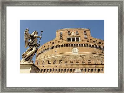 Rome - Mausoleum Of Hadrian  Framed Print