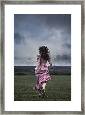Running Framed Print by Joana Kruse
