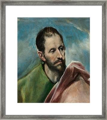 Saint James The Younger Framed Print