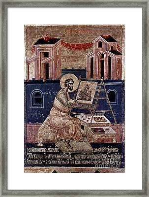 Saint Luke Framed Print