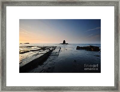 Saltwick Bay Framed Print