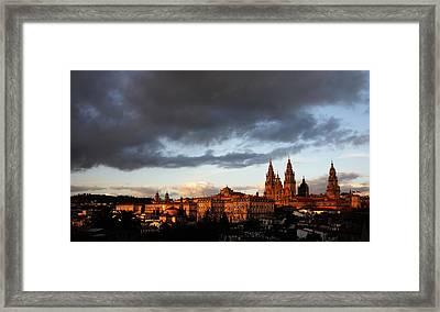 Santiago De Compostela Framed Print